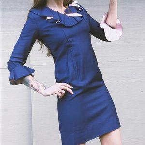 Stunning Vintage 60's 70's Mini Dress